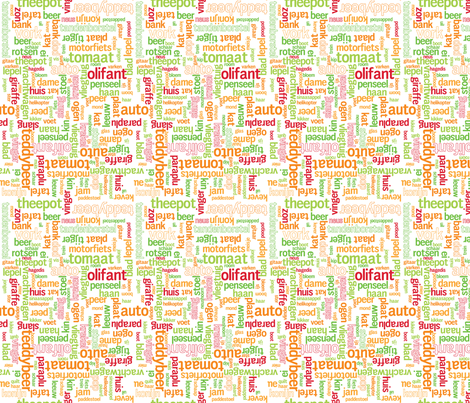 Words Dutch - ROG fabric by jmckinniss on Spoonflower - custom fabric