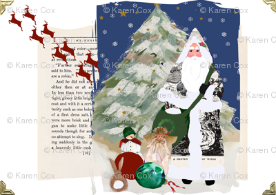 Father Christmas, A Scrapbook of Inspiration