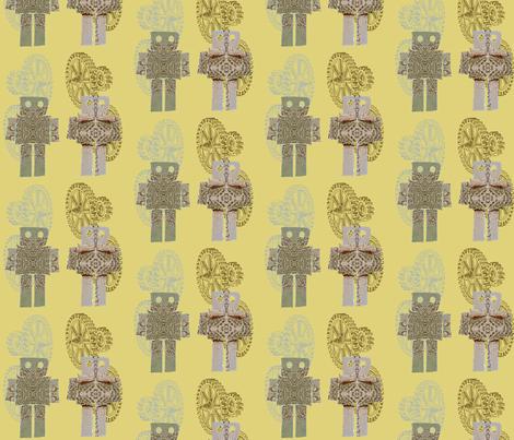 robots_2 fabric by thursday_next on Spoonflower - custom fabric