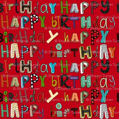 happy birthday red