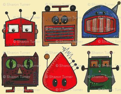 scrummy retro robots
