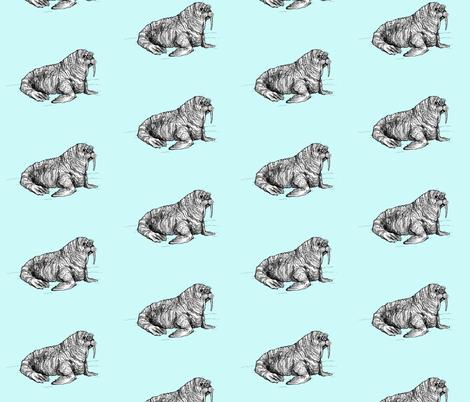 Walrus fabric by taraput on Spoonflower - custom fabric