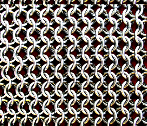 chainmail fabric by corvus on Spoonflower - custom fabric
