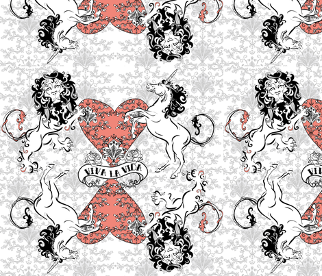 nicky1 fabric by cakes_for_breakfast on Spoonflower - custom fabric