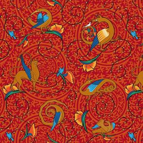 medieval_bestiary_red