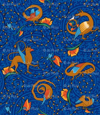 medieval_bestiary_blue