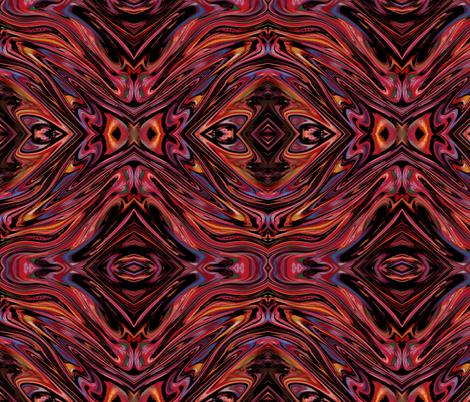 Dark Star fabric by poetryqn on Spoonflower - custom fabric