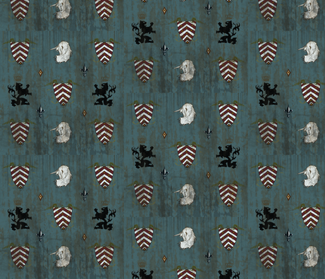 Medieval fabric by inkingcap on Spoonflower - custom fabric