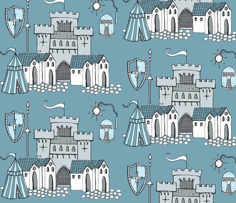 Knight, Knight fabric by creedancelovesyou on Spoonflower - custom fabric
