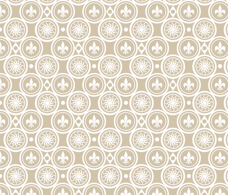 Summer Henricus fabric by poetryqn on Spoonflower - custom fabric