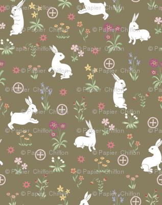la Dame aux lapins
