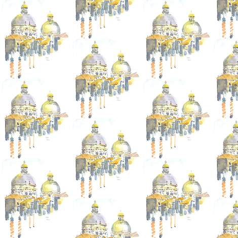 venice fabric by loveitaly on Spoonflower - custom fabric