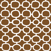 Mod Circles Brown
