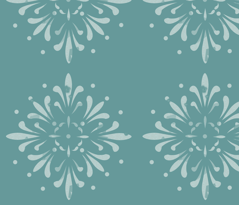 Simple Block Print fabric by emmyupholstery on Spoonflower - custom fabric