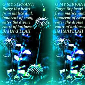 O My Servant!
