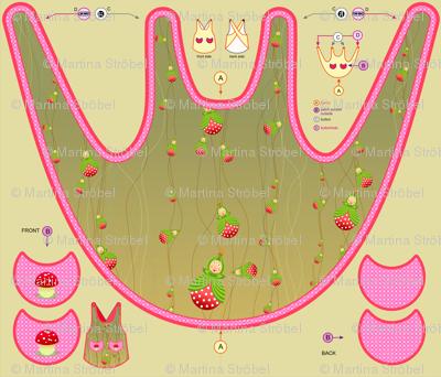 summer garden apron