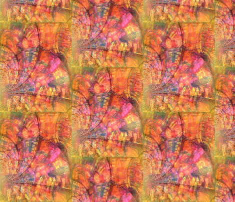 Warm Waves fabric by lauriem9@yahoo_com on Spoonflower - custom fabric