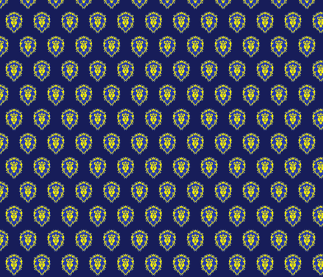 FOR_THE_ALLIANCE fabric by kwnightwind on Spoonflower - custom fabric