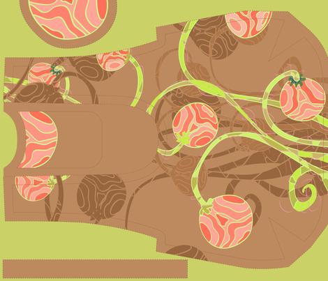 summer fresh - reversible handbag fabric by vina on Spoonflower - custom fabric