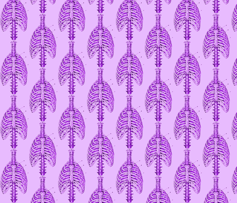 Bone Cage fabric by nalo_hopkinson on Spoonflower - custom fabric