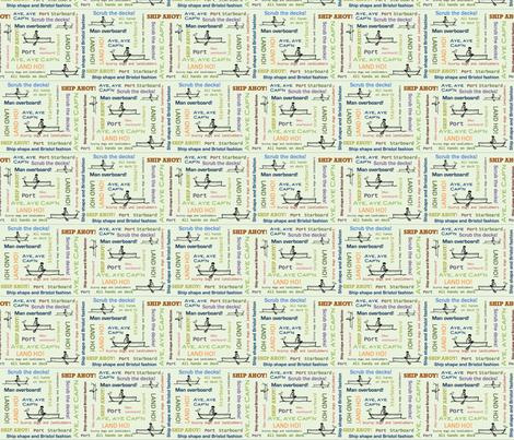NauticalBob fabric by feamainnín on Spoonflower - custom fabric