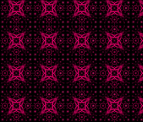 Pink Tourmaline fabric by abstract_abby on Spoonflower - custom fabric