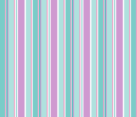 Stripes in pastel fabric by delsie on Spoonflower - custom fabric