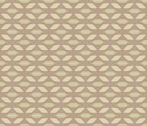 Vintage Shabby Diamond Petite fabric by kristopherk on Spoonflower - custom fabric