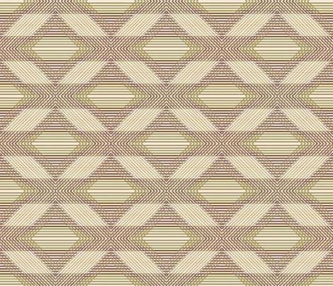 Vintage Shabby Diamond Grande fabric by kristopherk on Spoonflower - custom fabric