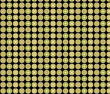 Rojilasha's Disks fabric by siya on Spoonflower - custom fabric
