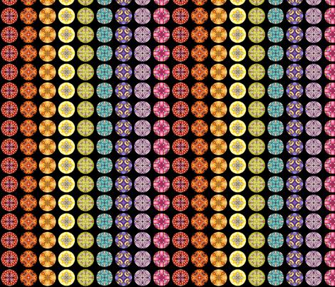 Rainbow Disks fabric by siya on Spoonflower - custom fabric
