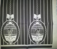 Skeletal Birds Black and Grey