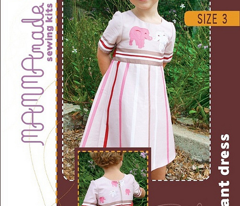 Pink Elephant Dress Kit Size 3