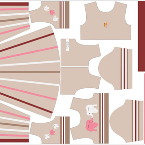 Pink Elephant Dress Kit Size 3
