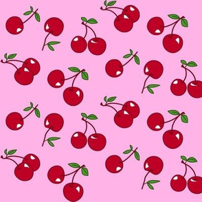 Cherries red x pink