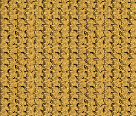 Gold denim swirl fabric by poetryqn on Spoonflower - custom fabric