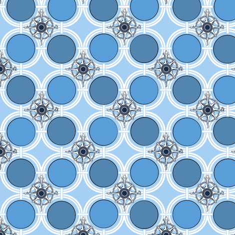 Southern Cross fabric by poetryqn on Spoonflower - custom fabric