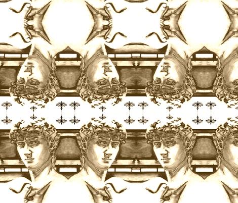 David fabric by dorolimited on Spoonflower - custom fabric