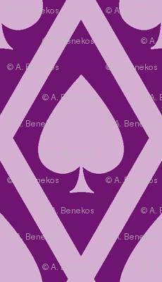 Umbria's Spades in Violet