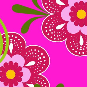fleur de bohème pink