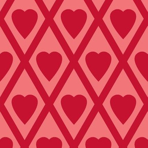 Valentina's Hearts in Red