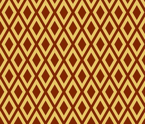 Ruby's Diamonds fabric by siya on Spoonflower - custom fabric