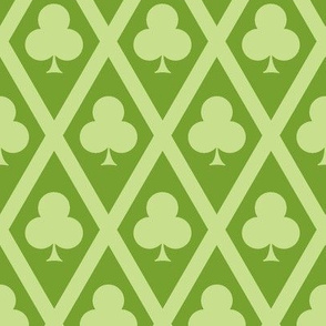 Clover's Clubs in Green
