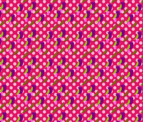 oiseau_à_pois fabric by nadja_petremand on Spoonflower - custom fabric