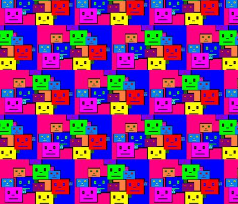 JamJax_Robotics_Squared fabric by jamjax on Spoonflower - custom fabric