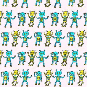 dancing robots