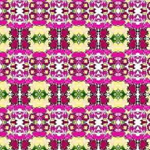 Bright Bouquet rad plaid