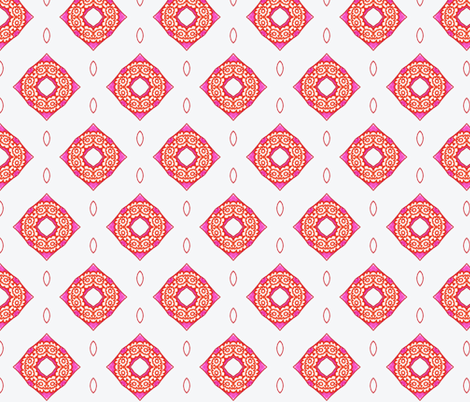 Letter A Variation III fabric by captiveinflorida on Spoonflower - custom fabric