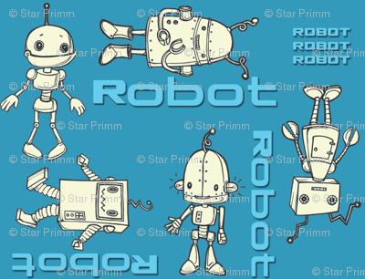 robo buddies blue