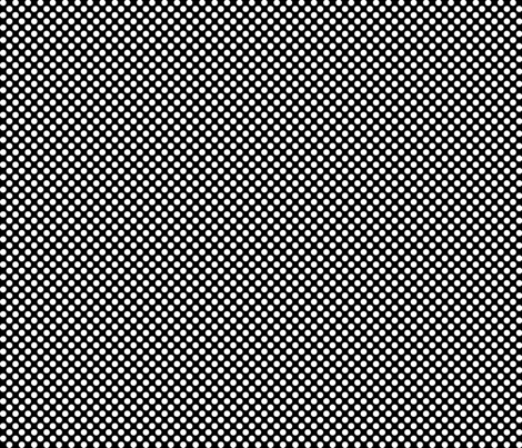 Polka Dots black x white fabric by mezzo on Spoonflower - custom fabric